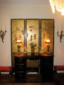 Asian Screen and Console NYC  Foyer