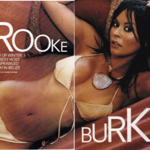 FHM- Sarafine Agate necklace- Brooke Burke