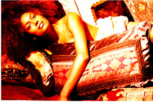 Sarafine with pillows 300x199